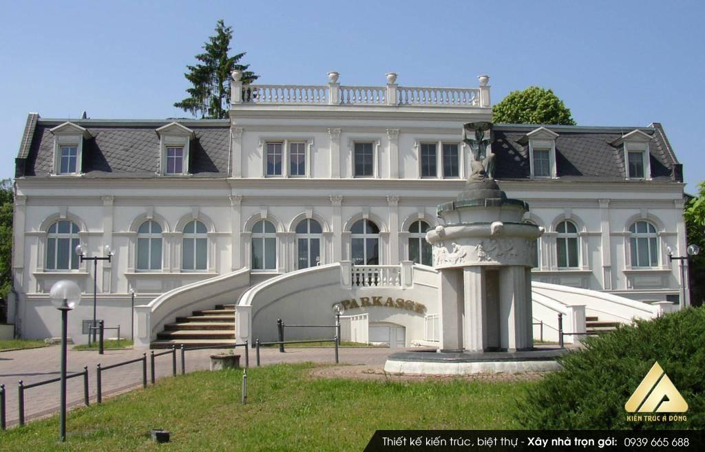 Mẫu biệt thự phong cách Châu Âu 2.5 Tầng tại Đà Lạt