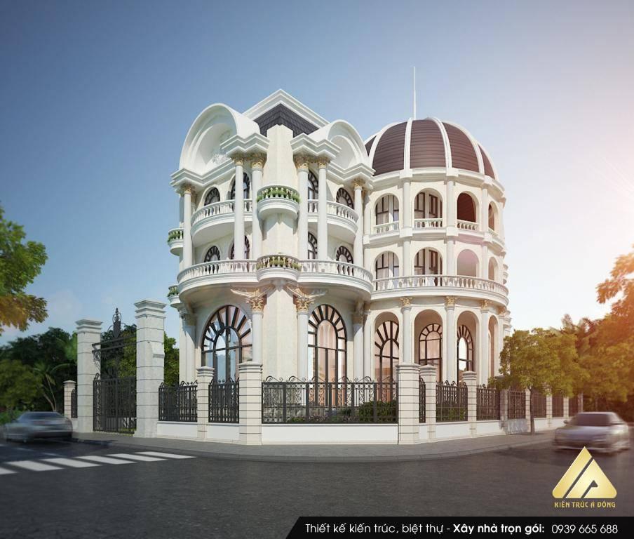Mỹ mãn mẫu nhà biệt thự đẹp nhất Việt Nam
