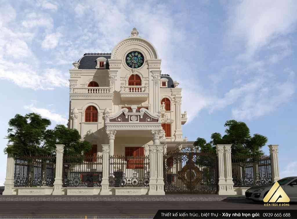 Điểm danh những mẫu biệt thự bán cổ điển tuyệt đẹp