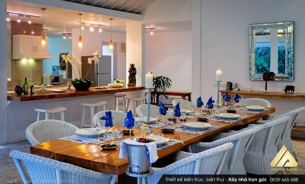 Phòng bếp hợp phong thủy cho tuổi 1990 Canh Ngọ