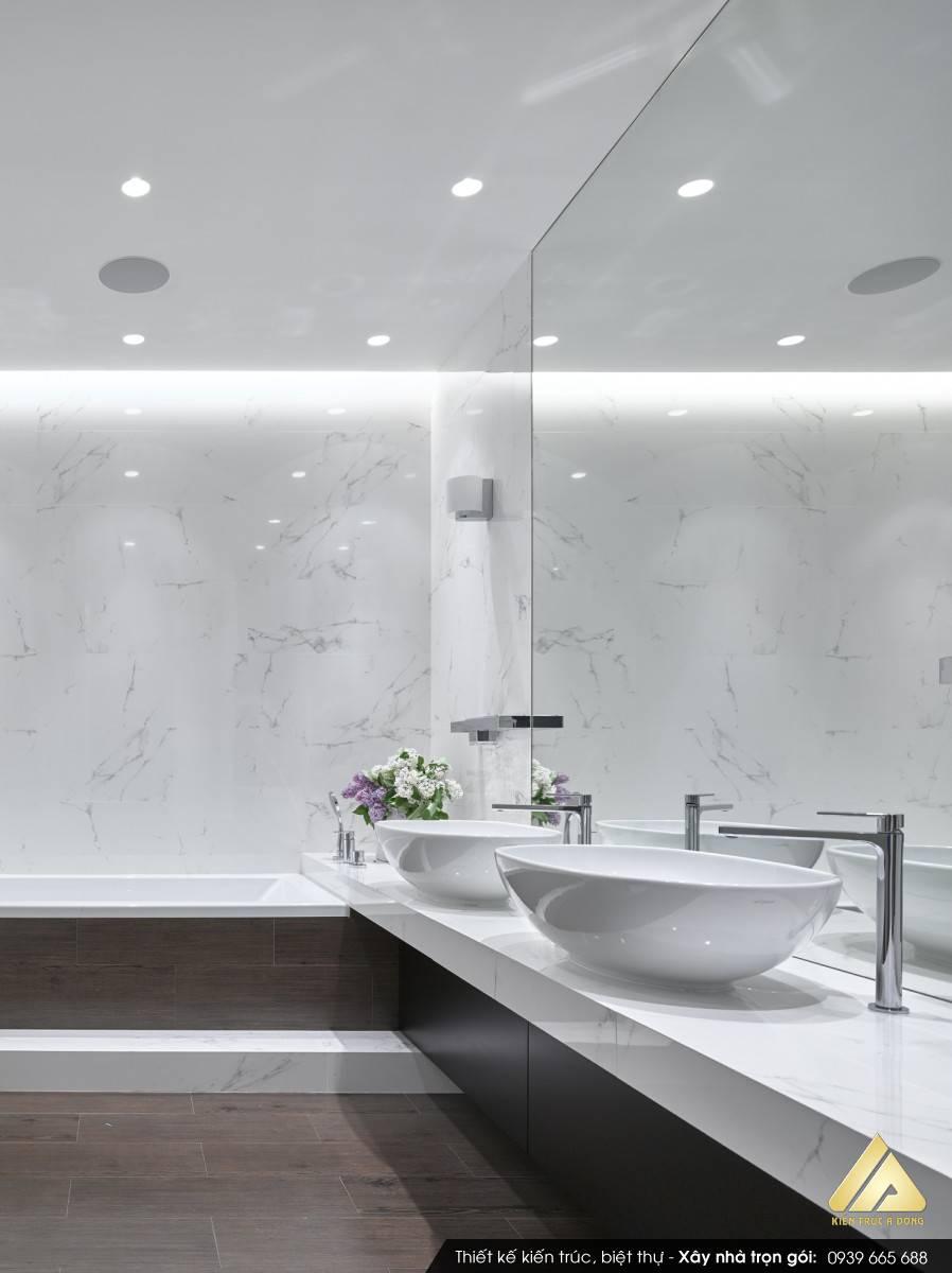 Mẫu thiết kế nội thất chung cư hiện đại sang trọng