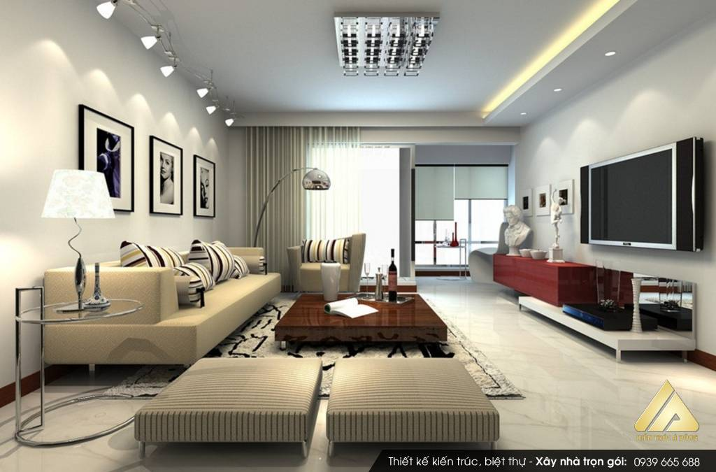 Mẫu nội thất chung cư nhỏ Kim Văn hiện đại đẳng cấp