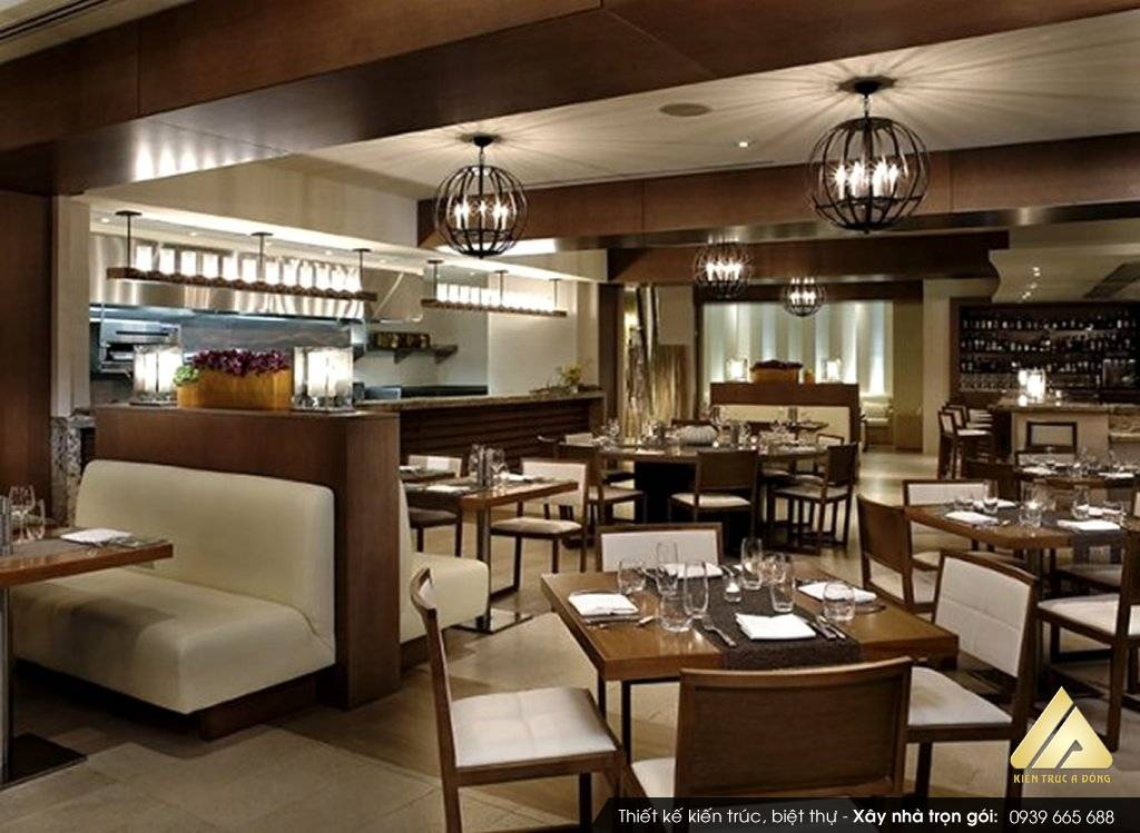 Thiết kế nội thất nhà hàng Quang Chi tại Hà Nội