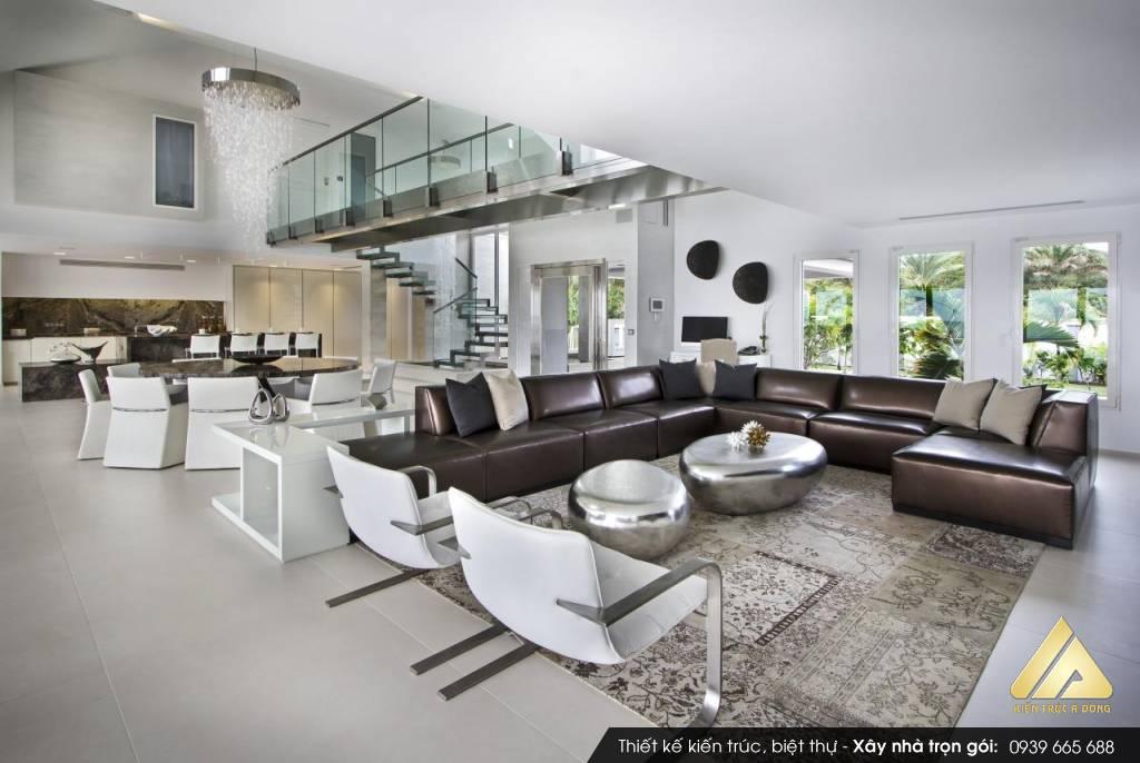 Mẫu thiết kế nội thất biệt thự đẹp tại TP Hạ Long