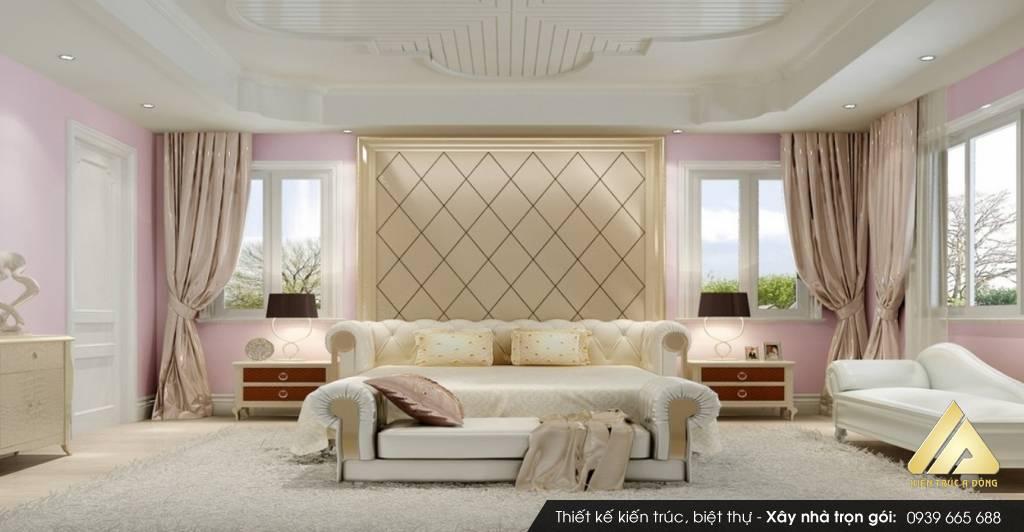 Mẫu thiết kế nội thất nhà biệt thự đẹp phong cách Châu Âu