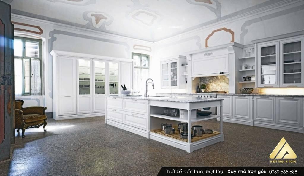 Phòng bếp hợp phong thủy cho tuổi 1957 Đinh Dậu