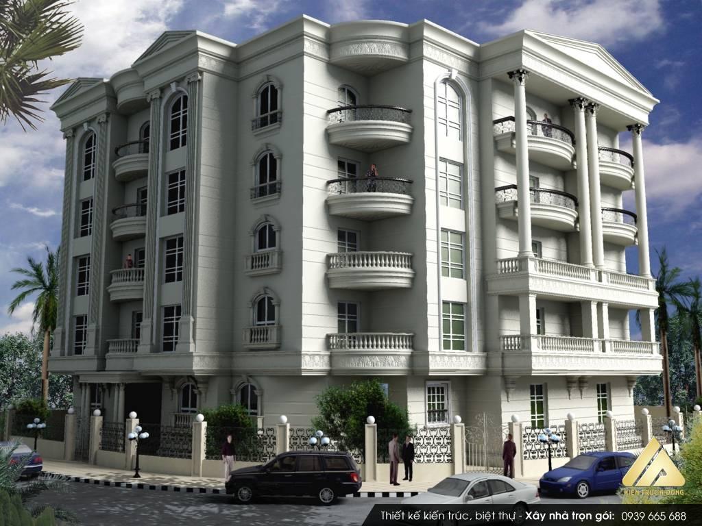 Mẫu thiết kế biệt thự 3 tầng tại Đà nẵng