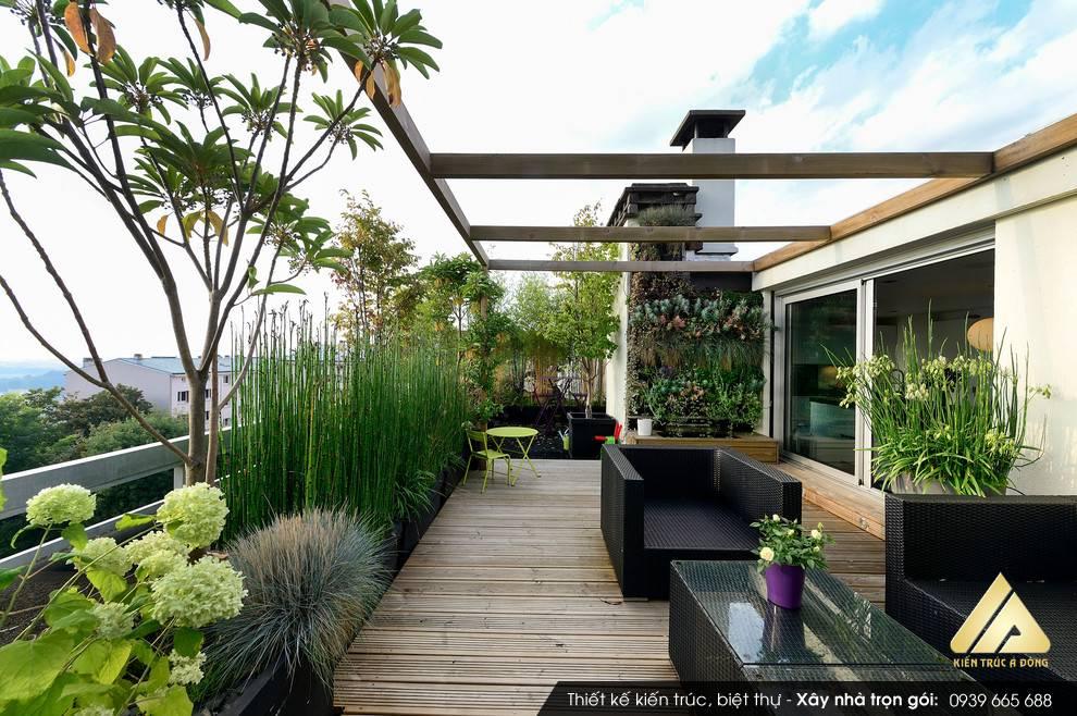 Thiết kế sân vườn nhà biệt thự