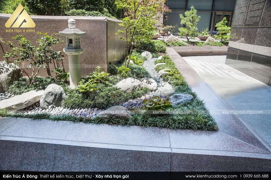 Mẫu thiết kế sân vườn nhỏ đẹp, hợp phong thủy