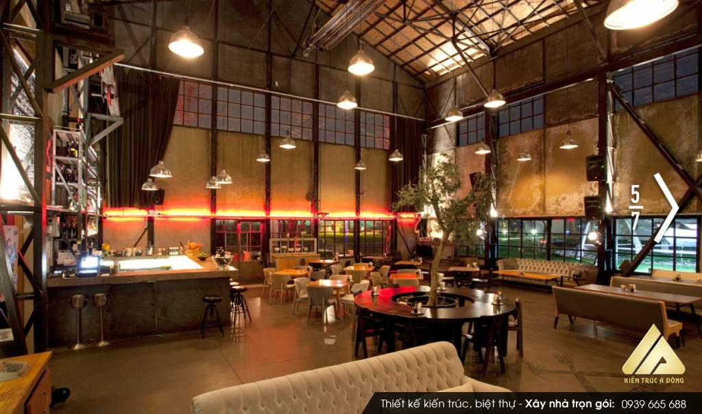 Mẫu thiết kế quán cafe đẹp tại TP Đà Nẵng