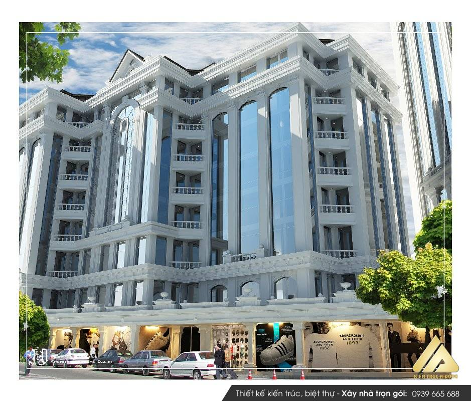 Thiết kế toà nhà văn phòng làm việc cho Công ty cổ phần XD Điện Biên
