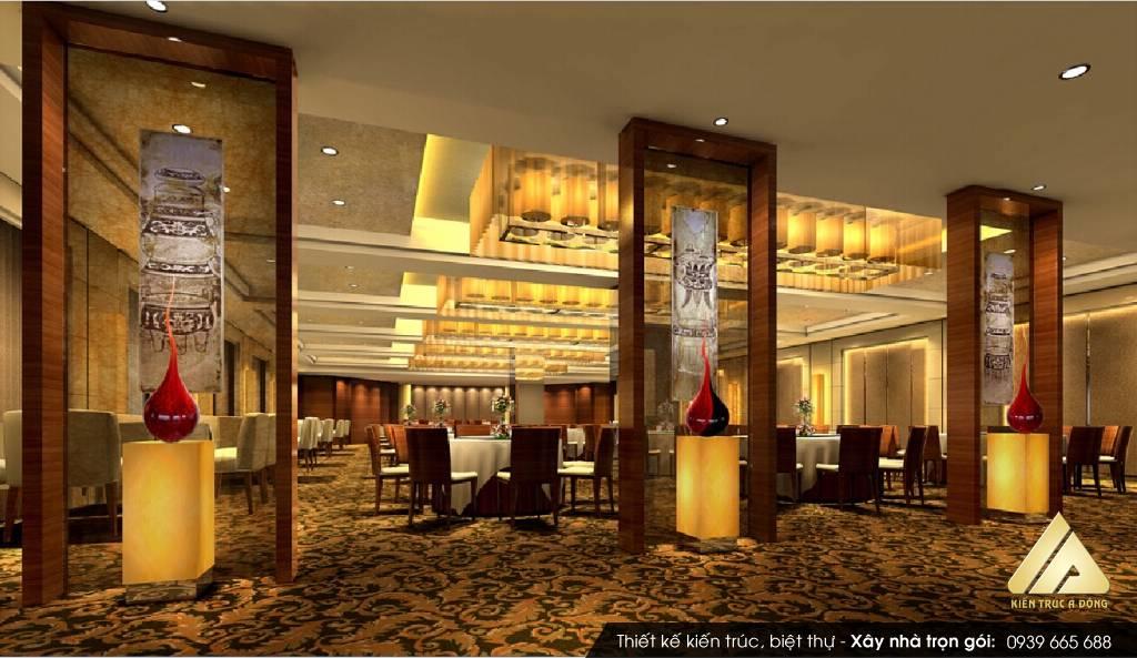 Mẫu thiết kế nhà hàng ăn uống Quê  Hương tại TP Hồ Chí Minh