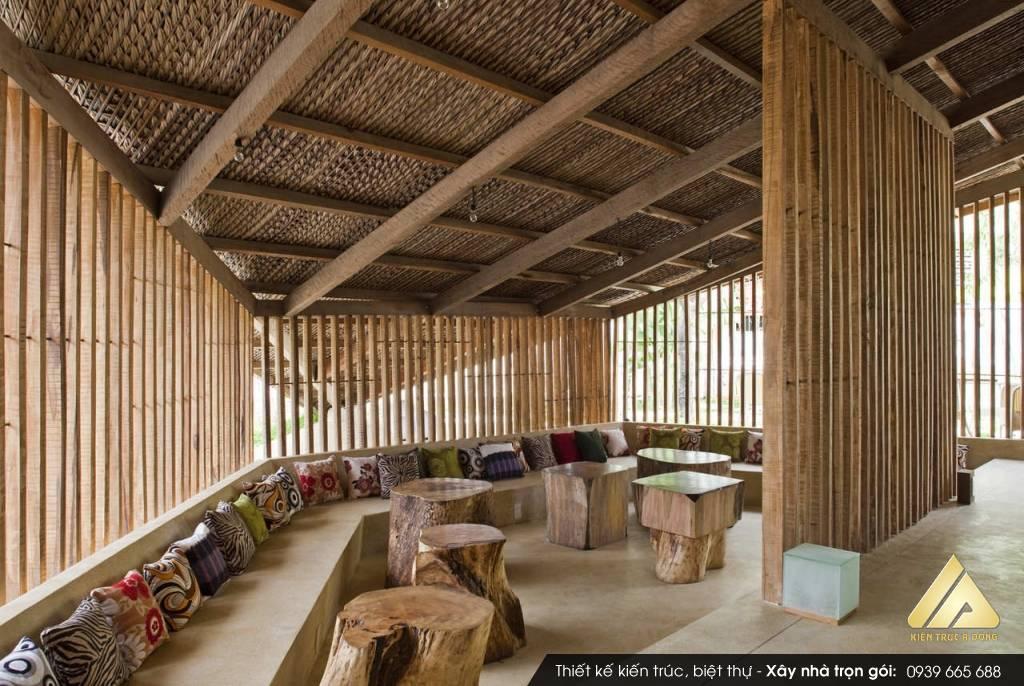 Thiết kế quán Cafe phong cách Á Đông, Cafe Nét Việt