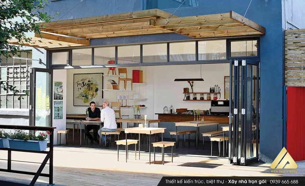 Thiết kế quán Cafe Bình hiện đại ở TP Hồ Chí Minh