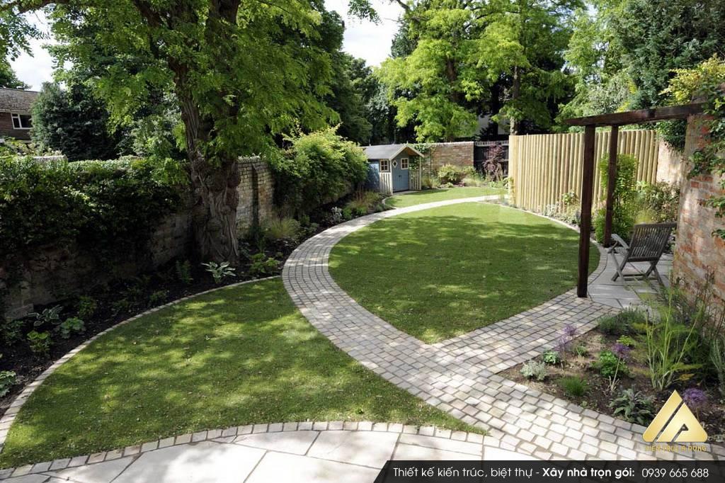 Thiết kế không gian sân vườn