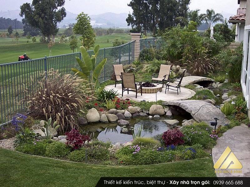 Mẫu quy hoạch thiết kế sân vườn tiểu cảnh đẹp nhất