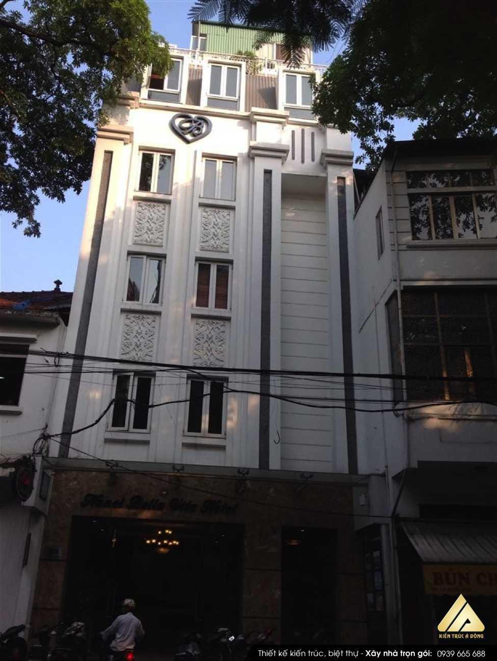 Mẫu biệt thự 6 tầng