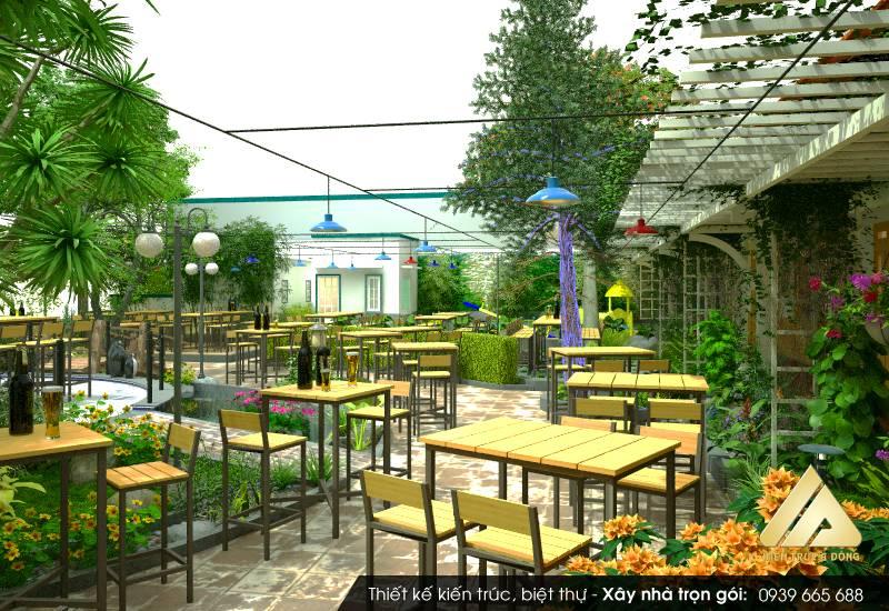 Mẫu nhà hàng Hàn Quốc