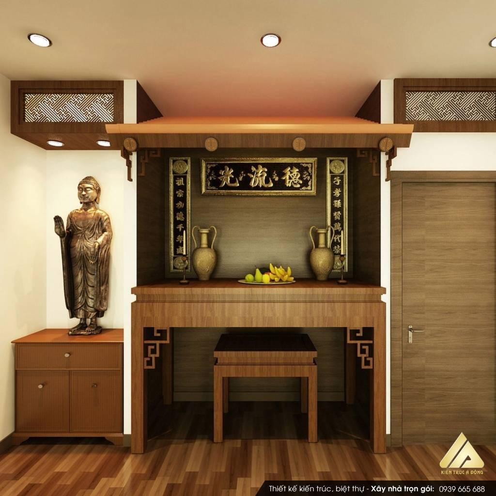 Thiết kế phòng thờ chung cư