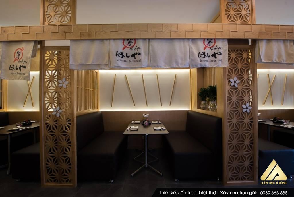 Mẫu nhà hàng Nhật Bản