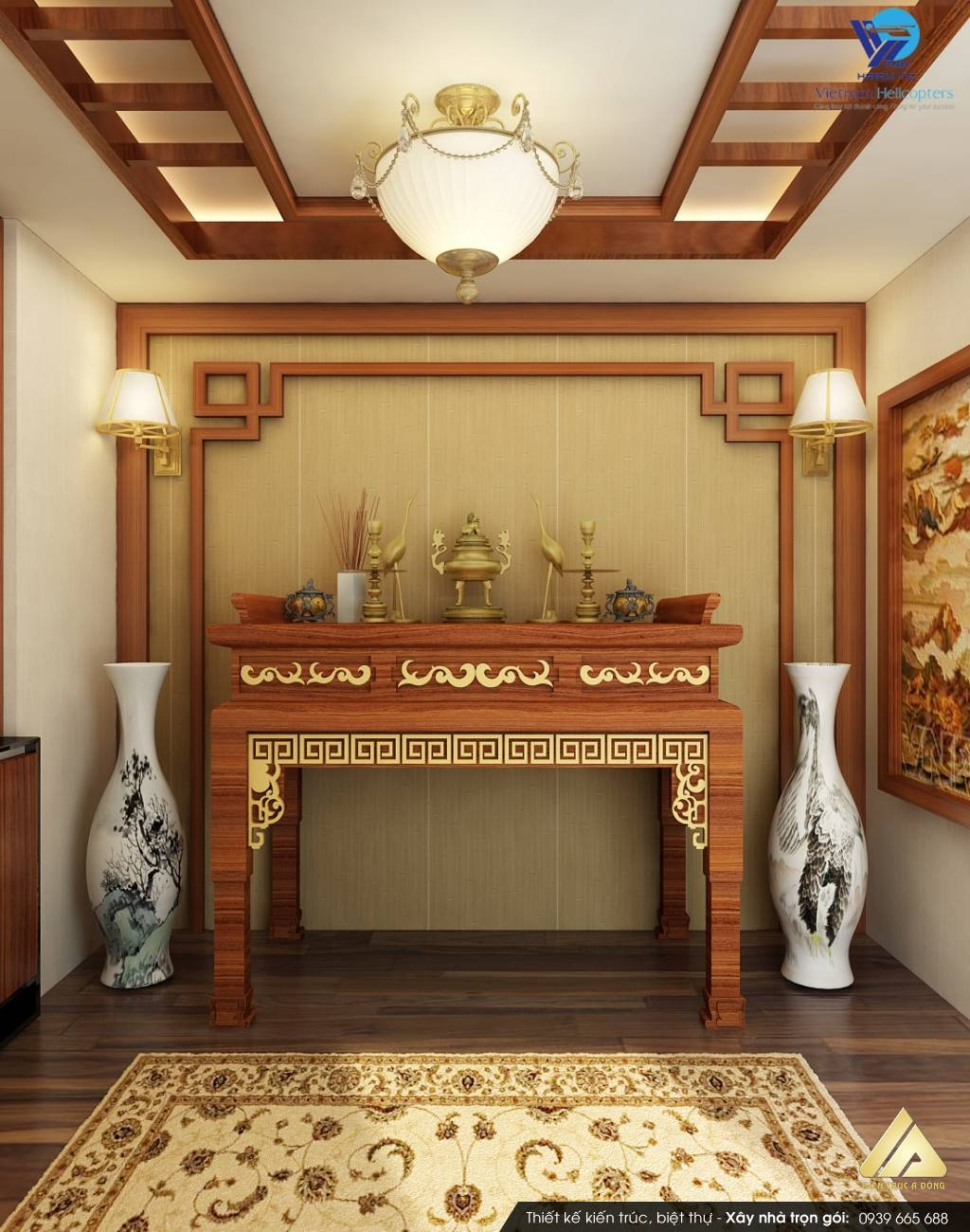 Phong thủy bàn thờ