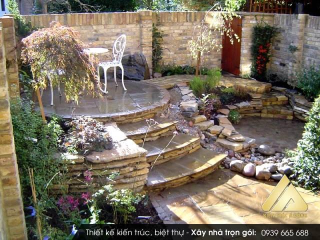 Thiết kế sân vườn cây cảnh