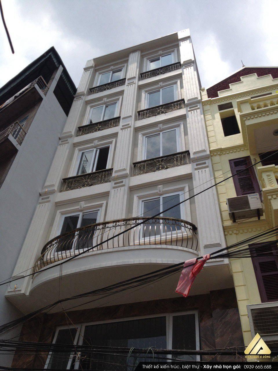 Mẫu nhà phố 7 tầng