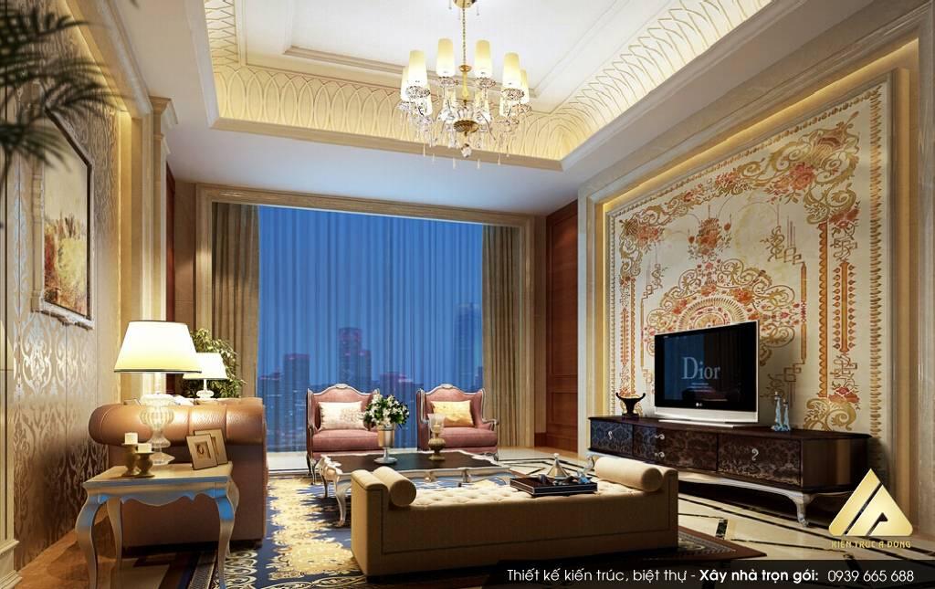 Thiết kế nội thất dinh thự