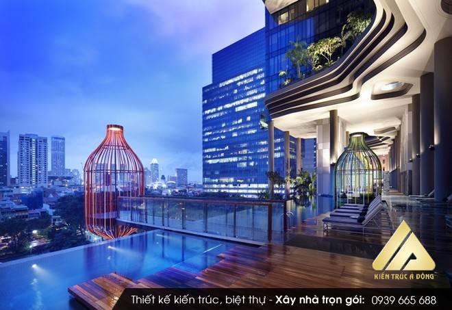 Thiết kế khách sạn 5 sao