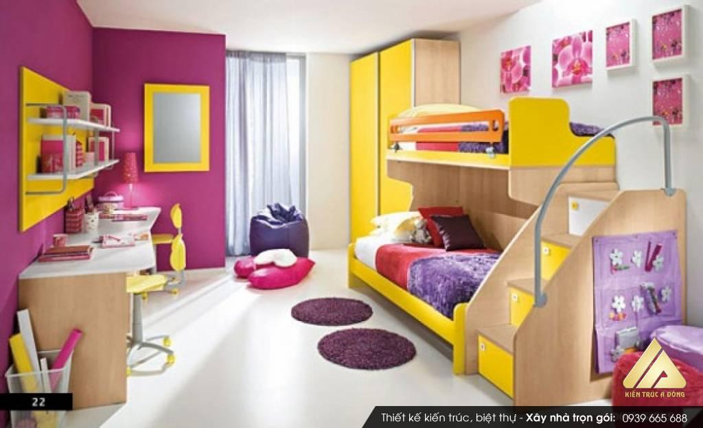 Mẫu thiết kế nội thất phòng ngủ đẹp hiện đại