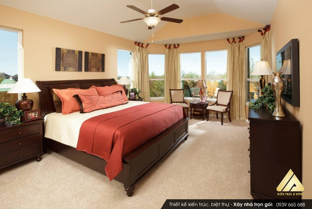 Thiết kế phòng ngủ theo phong thủy