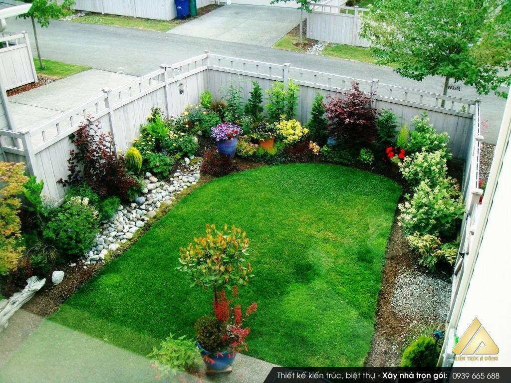 Mẫu sân vườn nhỏ