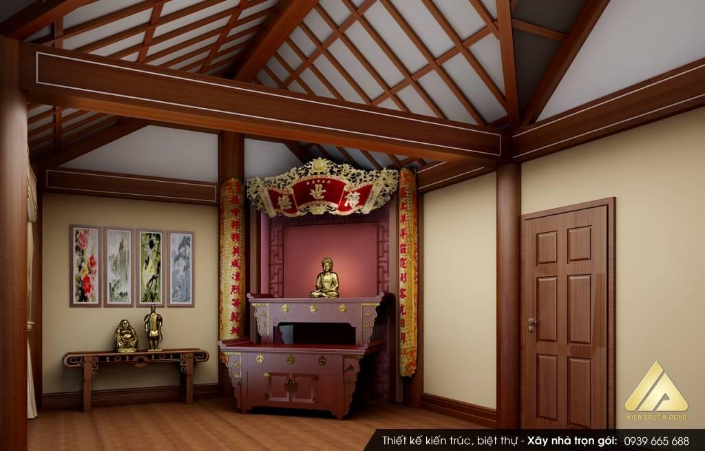 Phòng thờ hợp phong thủy cho tuổi 1978 Mậu Ngọ