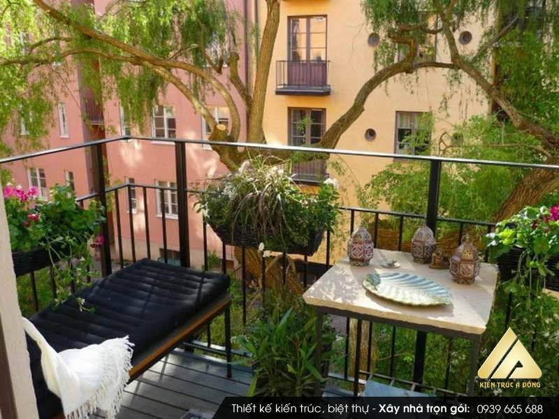 Mẫu sân vườn chung cư