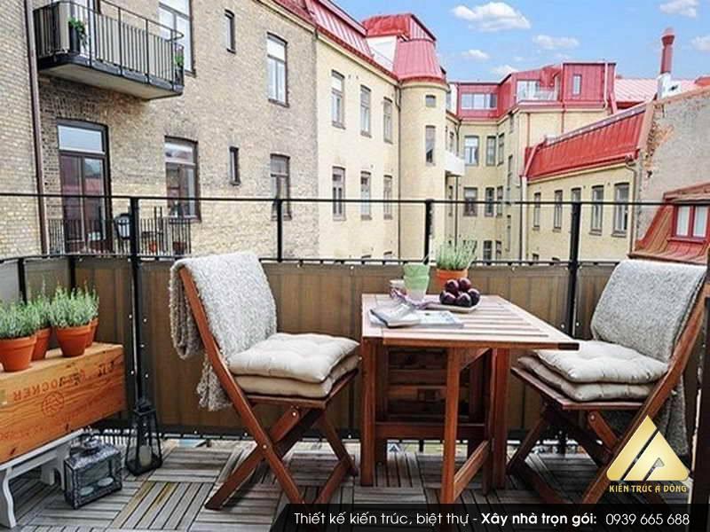 Thiết kế sân vườn chung cư