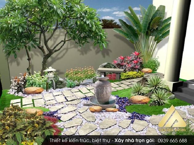Thiết kế sân vườn cảnh quan