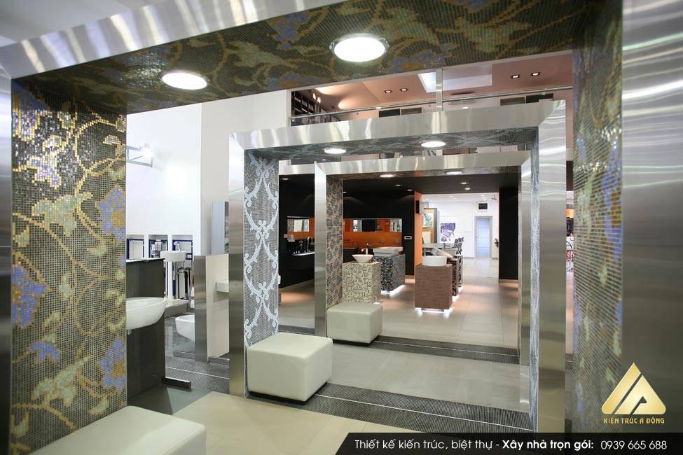 Mẫu nội thất showroom cửa hàng