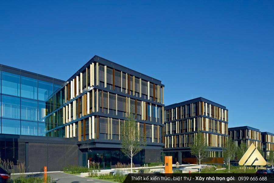 Thiết kế tòa nhà văn phòng cho thuê