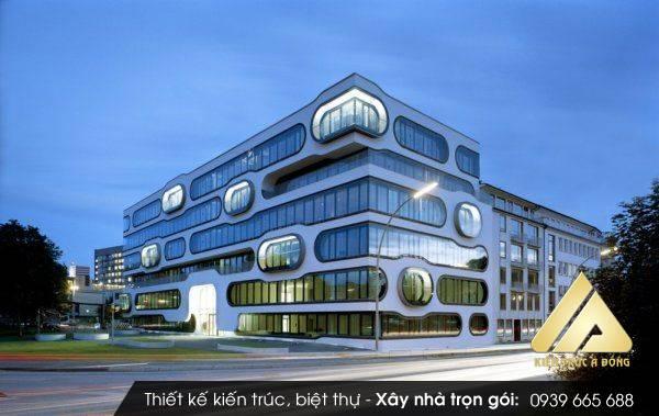 Thiết kế tòa nhà văn phòng đẹp