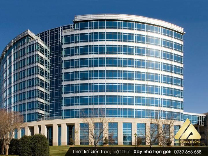 Mẫu tòa nhà văn phòng 10 tầng