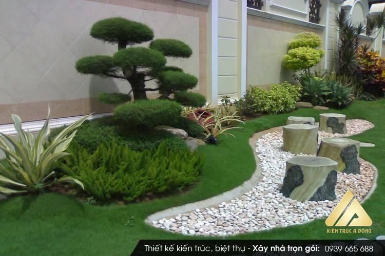 Phong thủy sân nhà