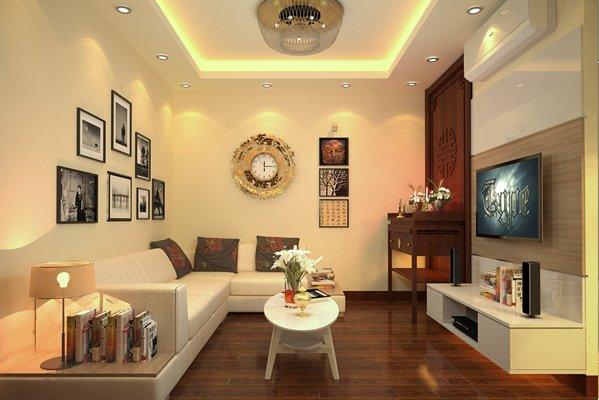 Mẫu nội thất nhà chung cư đẹp tinh tế ở đô thị Kim Văn