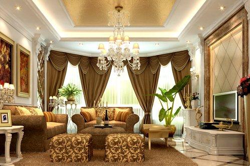 Mẫu thiết kế nội thất biệt thự cổ điển Châu Âu sang trọng