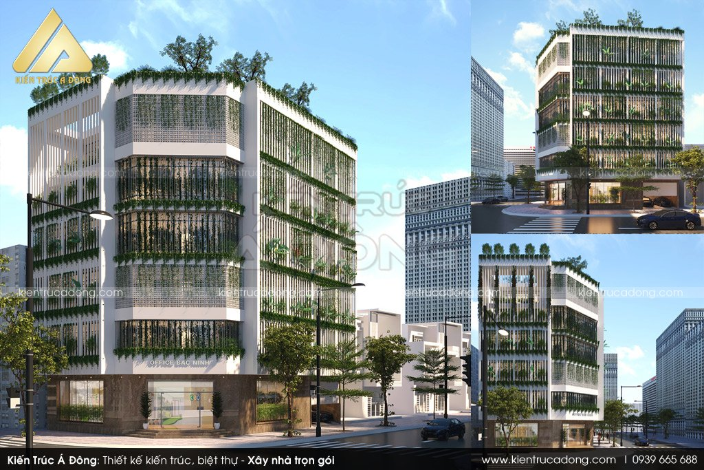Thiết kế Trung tâm thương mại thị trấn Phùng