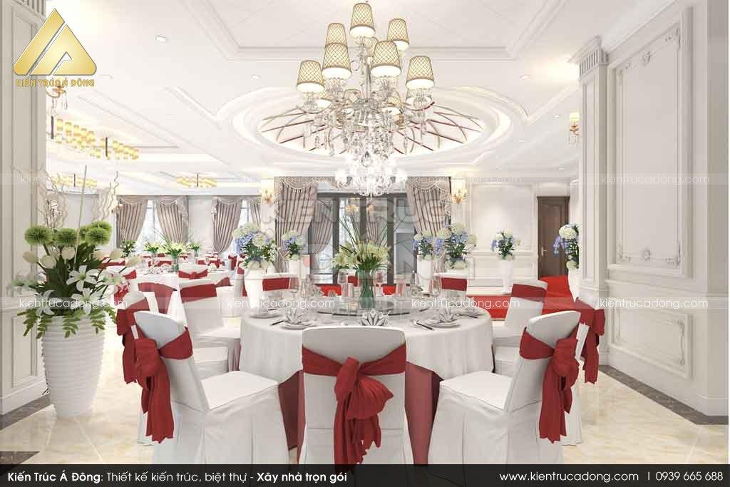 Mẫu thiết kế nhà hàng tại Quế Võ - Bắc Ninh