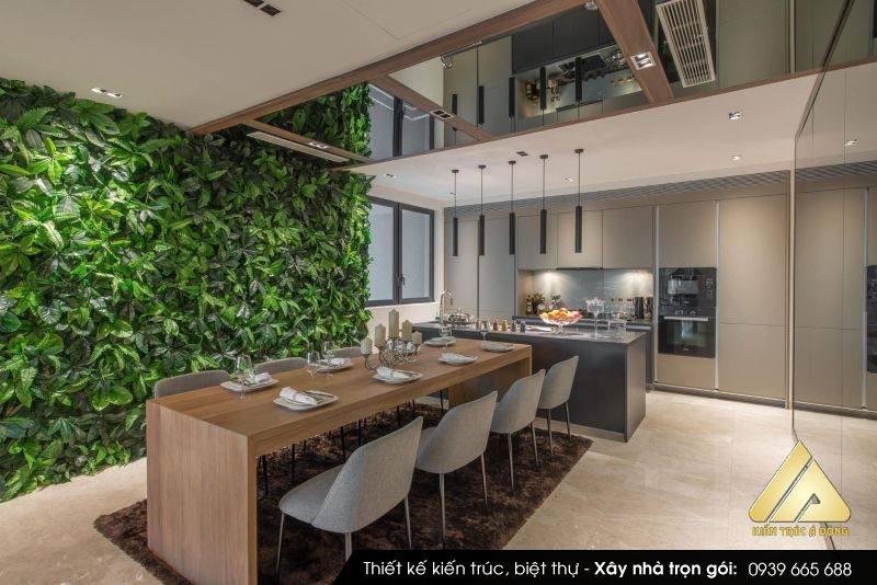 Thiết kế nội thất chung cư100m2 màu sắc hiện đại, vẻ đẹp sang trọng