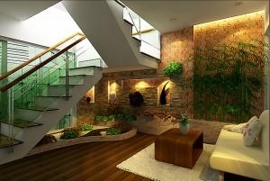 Mẫu thiết kế nội thất nhà ống đẹp, sang trọng