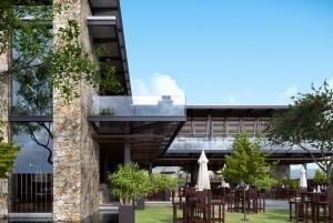 Mẫu thiết kế quán cafe sân vườn tại Hải Dương