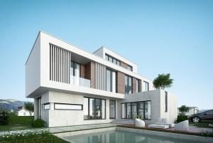 Mẫu thiết kế nhà ở 2 tầng hiện đại tại quận Hoàn Kiếm