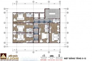 Mẫu thiết kế khách sạn 3 sao tại Đà Nẵng